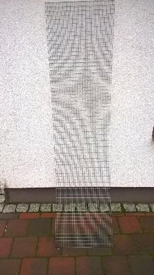 panel z siatki zgrzewanej  185/46cm drut 1.7mm