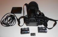 Sony a500 2x aku + sigma 28-70 & 28-200