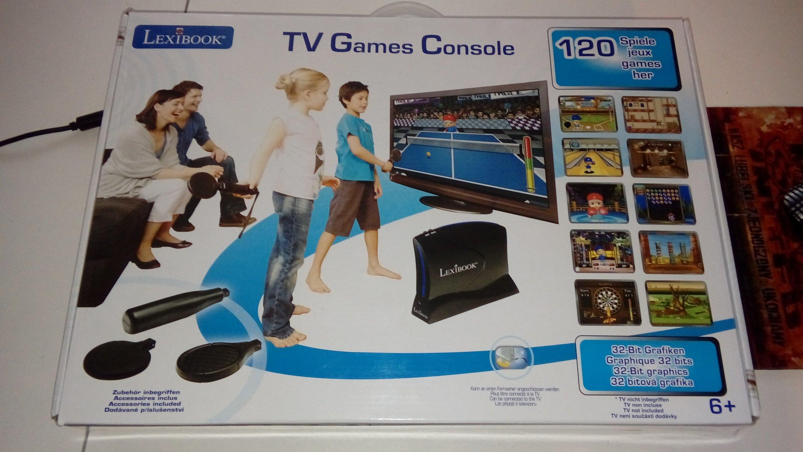 Okazja LEXIBOOK konsola tv 120 gier
