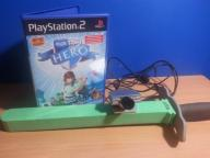 Play HERO (PL) + Miecz + PS EYE kamera PS2