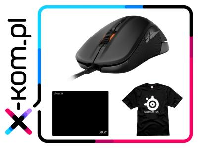 Mysz dla graczy SteelSeries Rival 6500DPI +GRATIS