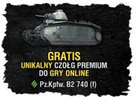 GRA WORLD OF TANKS WOT PZ B2 KOD     CZOŁG PREMIUM