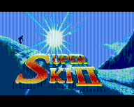 SUPER SKI 2 -   ATARI ST  - BOX
