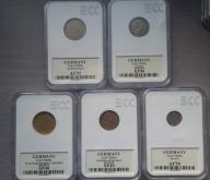 5 * ŻETON NIEMCY 1 euro, wilhelm ludwig GRADING