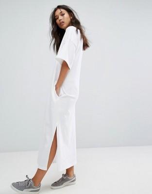 f01ba78dc0 PUMA sukienka MAXI biała SPORTOWA XL 42 - 6829243461 - oficjalne ...