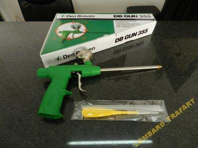 Pistolet do piany Den Braven DB GUN 355 Wawa!!!!!!