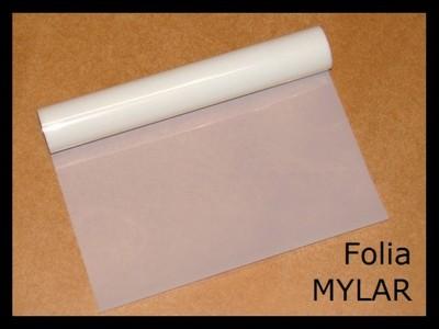 Folia poliestrowa MYLAR izolacja elektr. 0.075mm