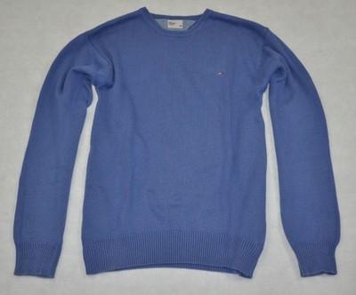 TOMMY HILFIGER sweter pulower męski półgolf L