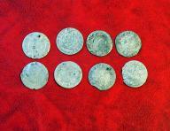 (Zestaw) stare monety SREBRO
