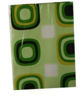obrus ceratowy na fizelinie kwadraty 100 x 140 cm