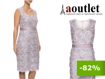 Sukienka Koronkowa Wesele Dla Matki 1408 48 6156884937 Oficjalne Archiwum Allegro