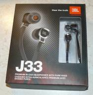 JBL J 33 słuchawki douszne.