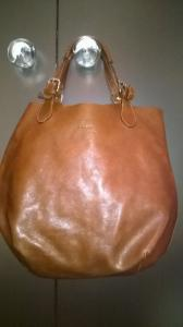 08d8fa0c Wojas -shopper bag,skóra licowa,czekoladowy brąz! - 5437495960 ...
