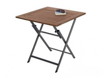 Stolik Stół Drewniany Składany Balkonowy Piknikowy