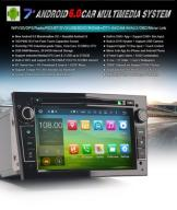Radio DAB+ Android DVD MP3 GPS Opel Astra Vectra