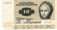 DANIA    10 KR     1972..   B13