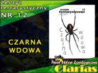 ZESZYT TERRARYSTYCZNY NR 12 - CZARNA WDOWA