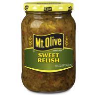 Mt.Olive oryginalny sweet relish z USA 473ml