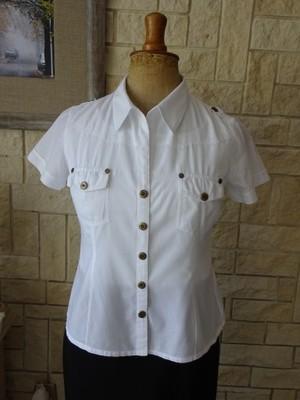 62c83fdd38aa73 Biała koszula, bluzka damska rozm. 38 - 6930044926 - oficjalne ...
