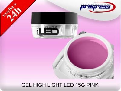 SILCARE GEL HIGH LIGHT LED 15G PINK