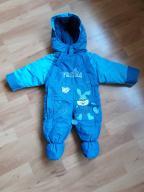 Kombinezon na zimę dla niemowlaka ocieplany