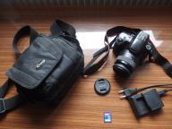 SONY ALPHA SLT-A37 +OBIEKTYW 18-55 SAM II + 4GB SD