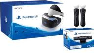 Gogle Sony PlayStation VR + Kamera PS4 + 2x Move N