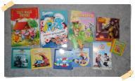 11 x książki pamiętnik 50 x naklejki NOWE I UŻYWAN