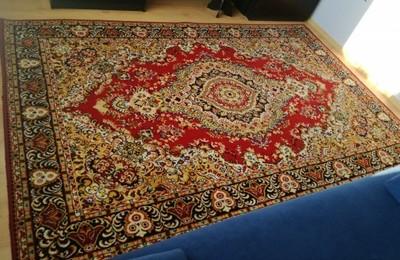 Duży dywan 200x300 wełna 100 %