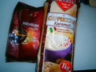 CAPPUCCINO KARAMELL 1KG (1000 GRAM!!!) + MK CAFE