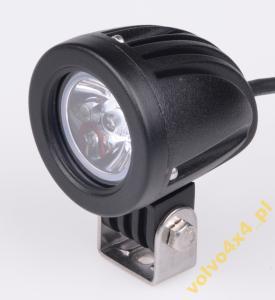 LAMPA DALEKOSIĘŻNA MINI HALOGEN 57mm 10W CREE LED