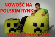 PUFA FOTEL SAKO XXL +gratis KOSTKA kliper 24h Pufy