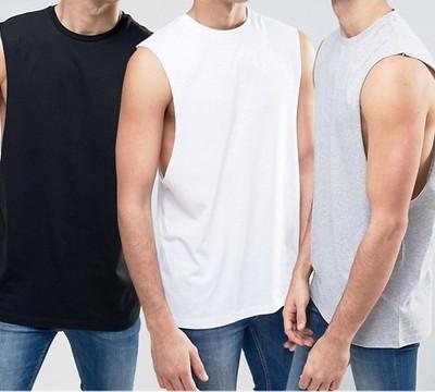 koszulka męska ex Asos T shirt 3 pak M