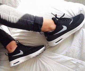 Nike Buty damskie Air Max Thea czarne r. 36 12 (599409 007) ID produktu: 4566038