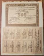 10 Akcji 50 zł - Z. Fabryk Masz. Roln. 04.02.1921