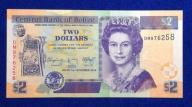 Belize 2 Dollars 2014 r. 184/10