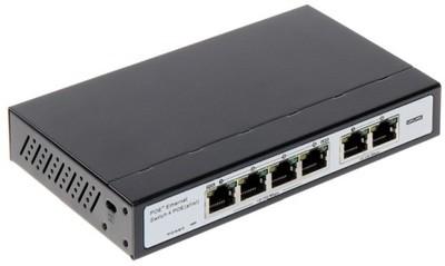 SWITCH INTERNEC SPE124C VLAN 6 portów (2 + 4PoE)