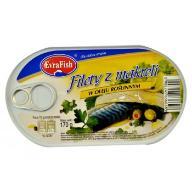 Filet z makreli (makrela) w oleju 174g EVRAFISH