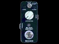 MOOER MDS-1 Black Secret Dstortion Pedal