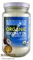 Olej kokosowy EXTRA VIRGIN 350 NIERAFINOWANY FIDŻI