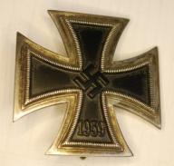 Krzyż żelazny EK Eisernes Kreuz 1939 r.