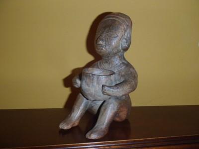 __ Figurka Meksyk rzeźba Glina terakota
