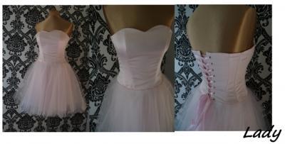 5787388afe Suknia wieczorowa sukienka suknie LADY 38 - 5767195602 - oficjalne ...