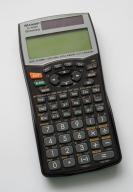 Kalkulator naukowy SHARP EL-W506, 556 funkcji