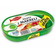 Graal Filety Z Makreli W Pomidorach 170g