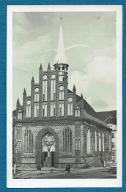 Szczecin. Kościół św. Piotra i Pawła. 1954 rok
