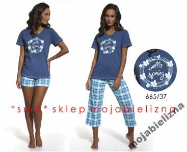81f4a59a81c8d0 smb* piżama damska CORNETTE 665/37 SPRING r.XL - 5222920338 ...