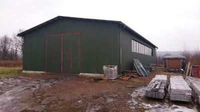 Konstrukcja stalowa, hala stalowa 12x24x5m używana