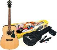 Ibanez V50NJP-NT - zestaw z gitarą akustyczną