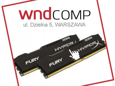 DDR4 Kingston HyperX FURY 2x4GB 2133MHz Dual KIT